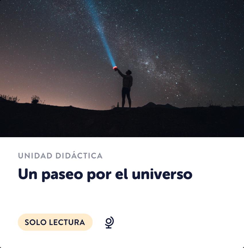 Un paseo por el universo